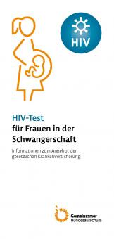 "Versicherteninformation ""HIV-Test"""